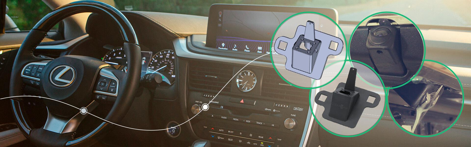 Омыватель камеры заднего вида Toyota Lexus