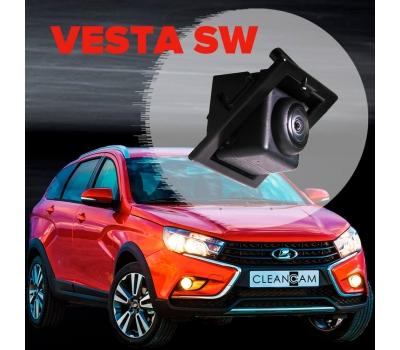 Омыватель камеры заднего вида для Lada Vesta SW (CROSS) 2015-2021 (3492)