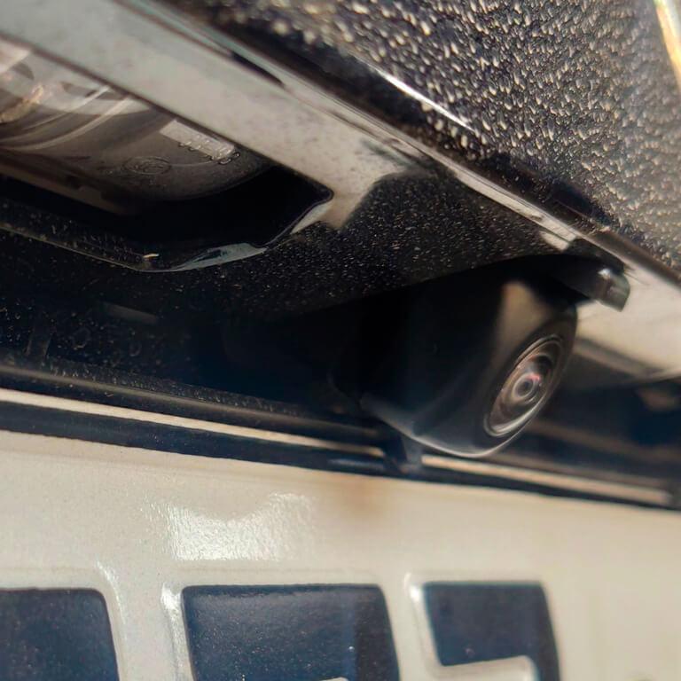 схема подключения омывателя камеры заднего вида Lexus NX