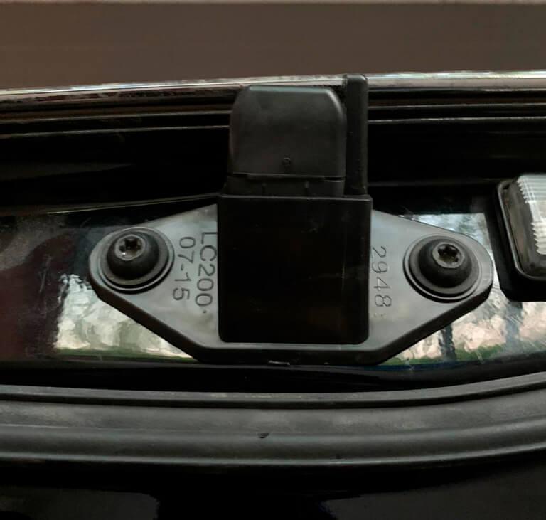 омыватель камеры заднего вида Land Cruiser 200