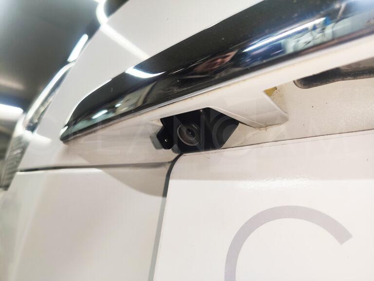 Инструкция по установке омывателя камеры заднего вида Mitsubishi Outlander 3